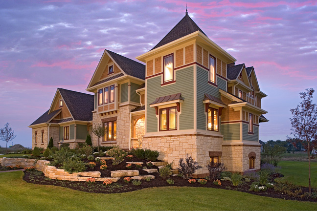 Prairie craftsman architecture marshall architects for Craftsman luxury homes